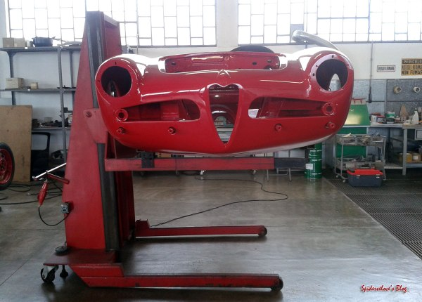 Giulietta-spider-assembly-ready